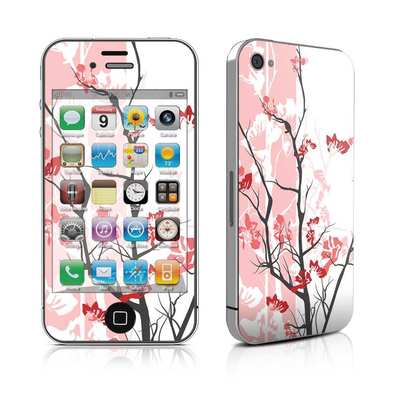 Pink Tranquility iPhone 4 Skin