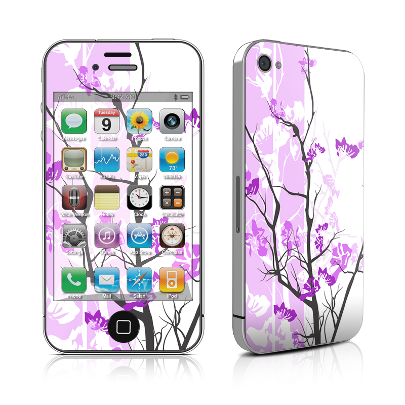 Violet Tranquility iPhone 4 Skin
