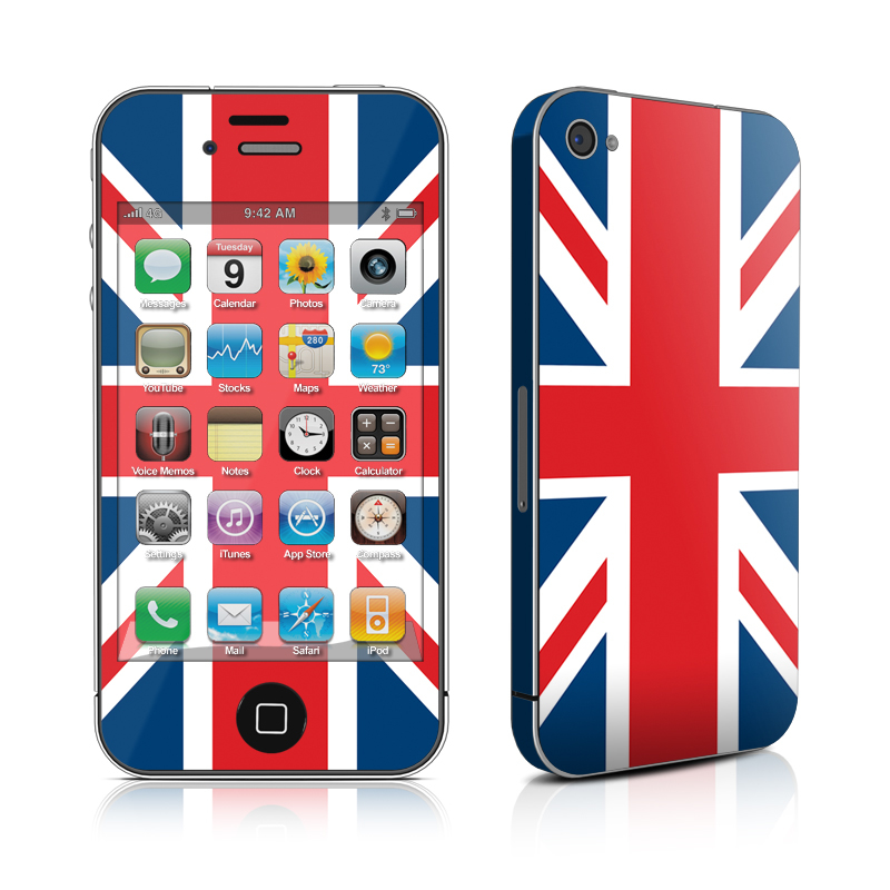 Union Jack iPhone 4 Skin