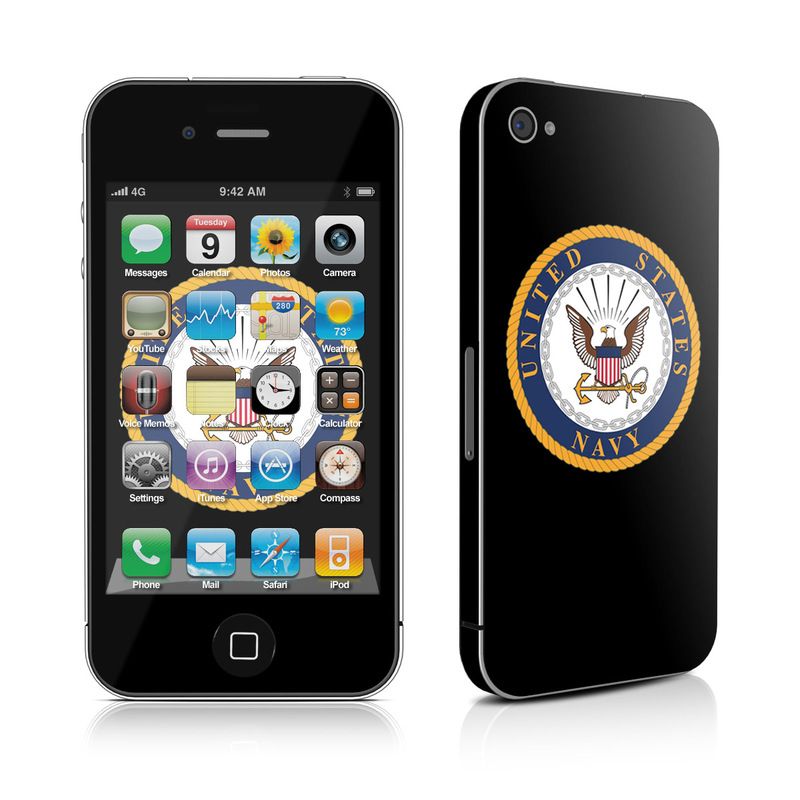 USN Emblem iPhone 4s Skin
