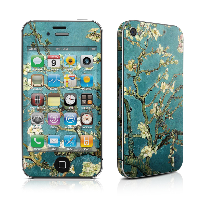 Blossoming Almond Tree iPhone 4 Skin