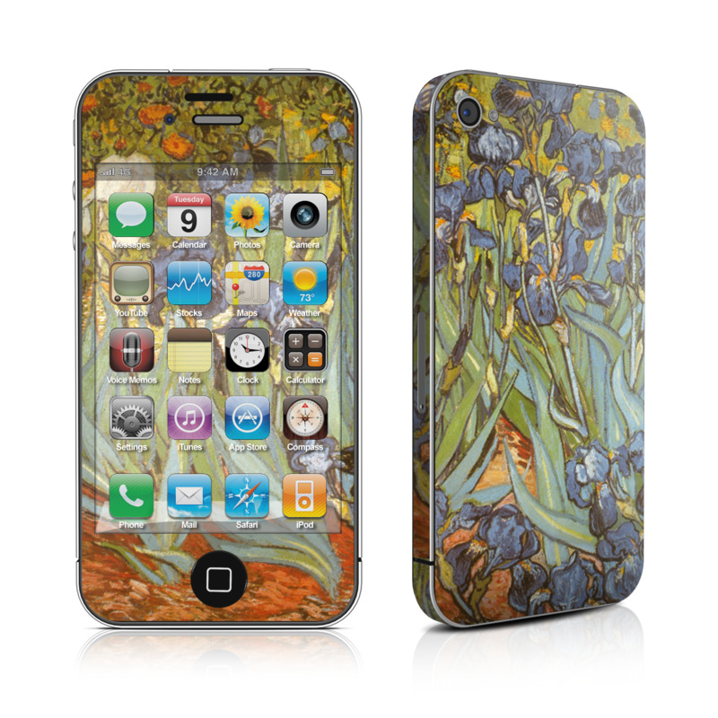 Irises iPhone 4 Skin