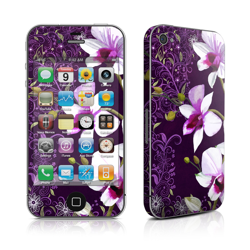 Violet Worlds iPhone 4 Skin