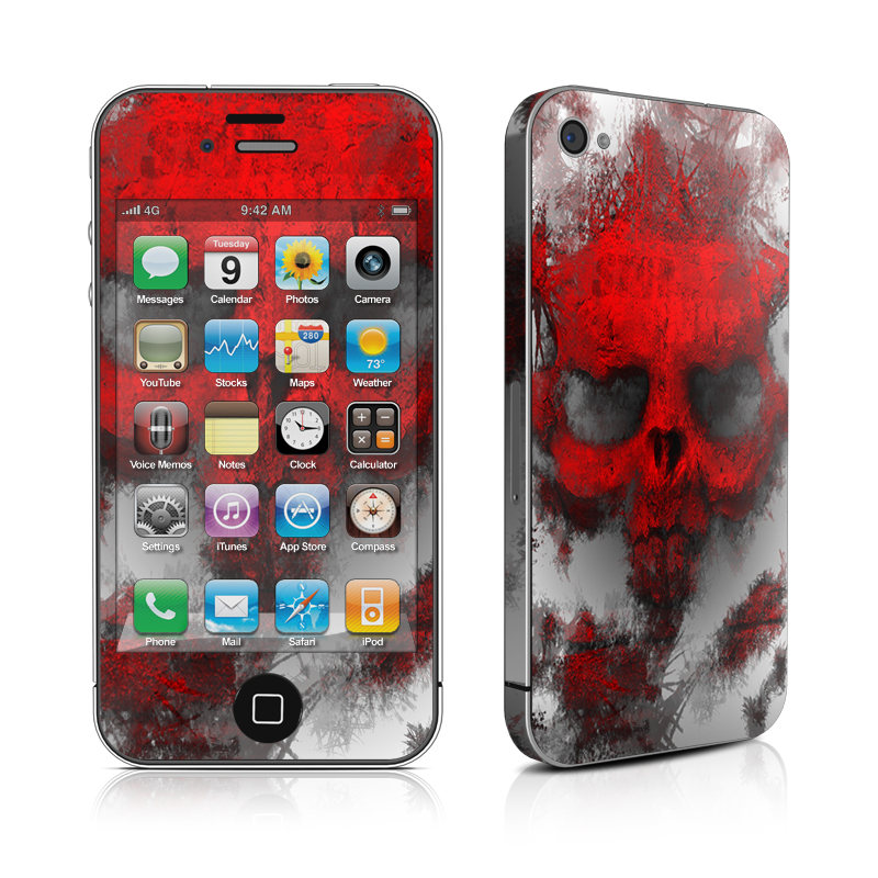 War Light iPhone 4 Skin