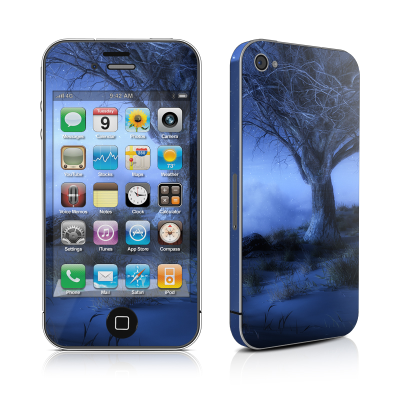 World's Edge Winter iPhone 4s Skin