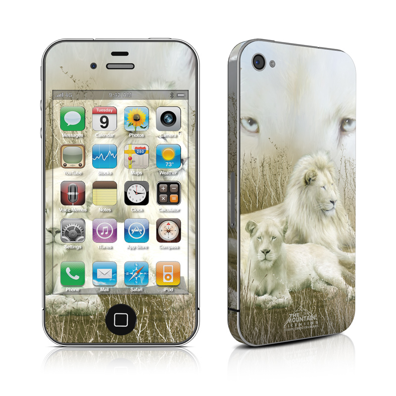 White Lion iPhone 4 Skin