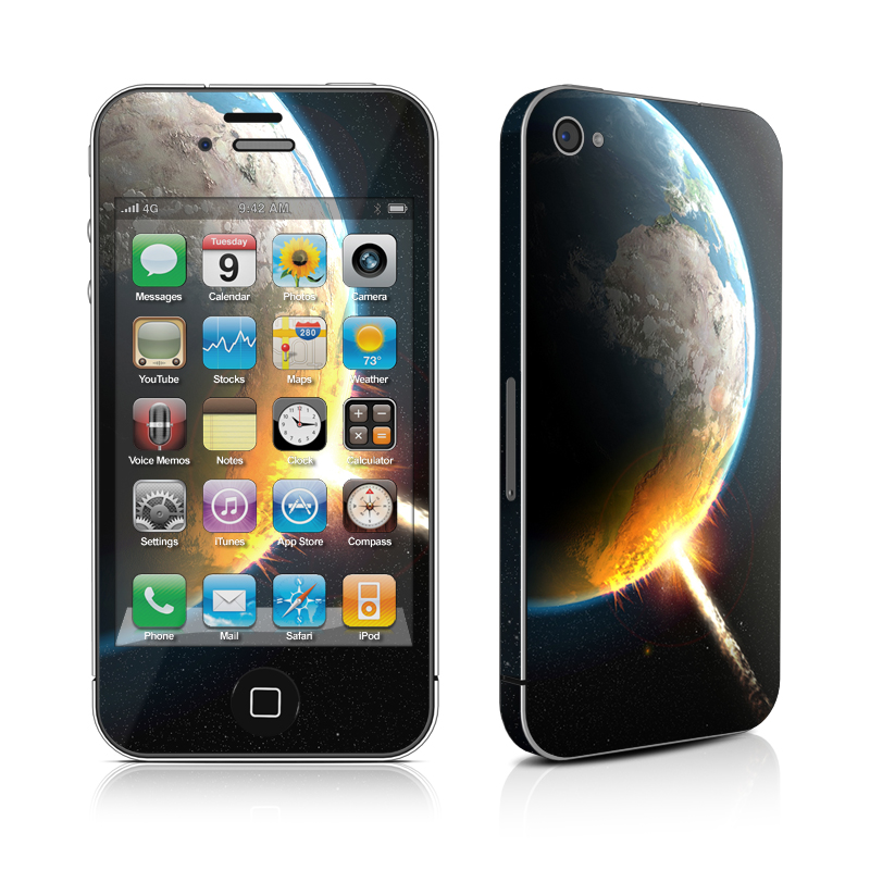 World Killer iPhone 4s Skin