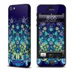Blue Garden iPhone 5 Skin
