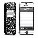 Composition Notebook iPhone 5 Skin