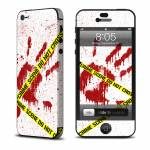 Crime Scene Revisited iPhone 5 Skin