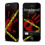 Crime Scene iPhone 5 Skin