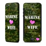 Marine Wife iPhone 5 Skin
