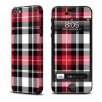 Red Plaid iPhone 5 Skin