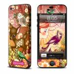 Purple Bird iPhone 5 Skin