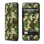 Woodland Camo iPhone 5 Skin