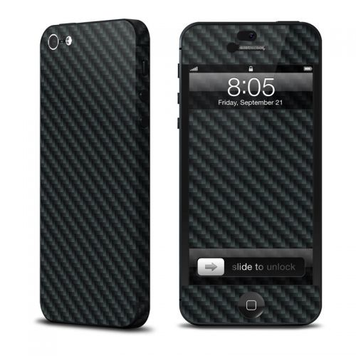 Carbon Fiber iPhone 5 Skin
