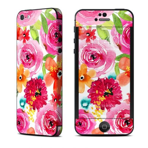 Floral Pop iPhone 5 Skin