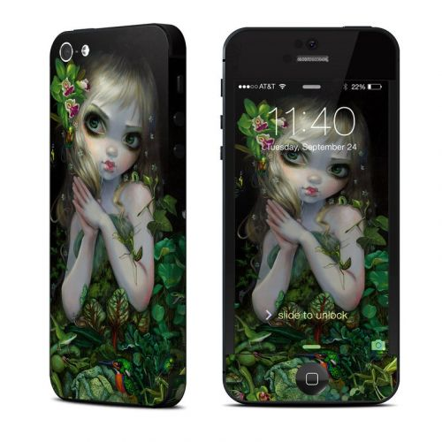 Green Goddess iPhone 5 Skin
