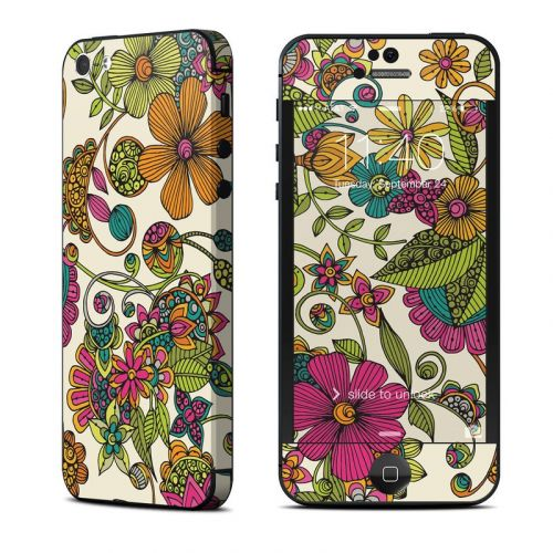 Maia Flowers iPhone 5 Skin