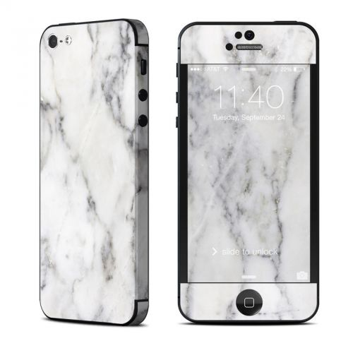 White Marble iPhone 5 Skin