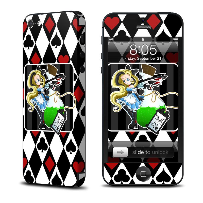 Alice iPhone 5 Skin