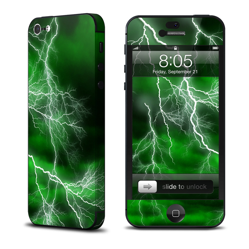 Apocalypse Green iPhone 5 Skin
