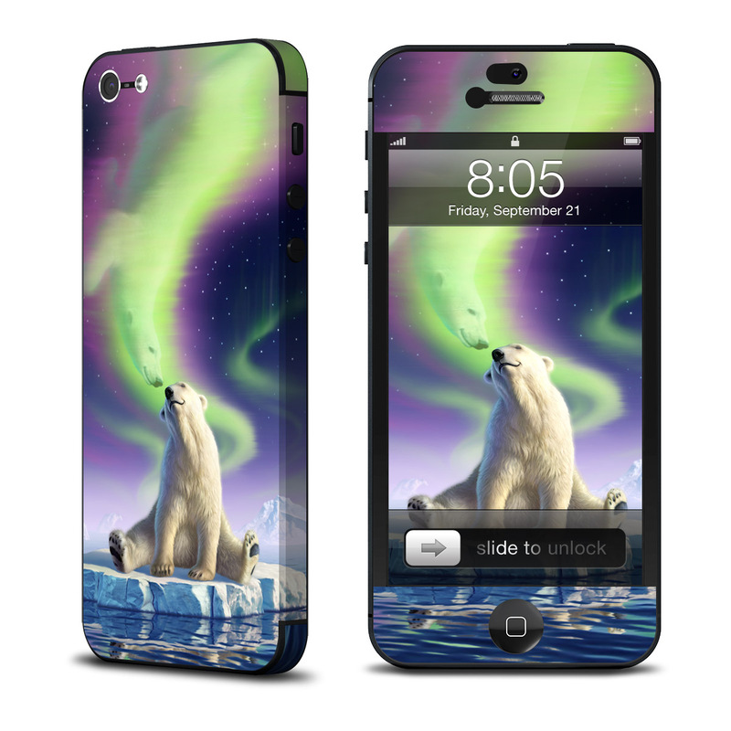 Arctic Kiss iPhone 5 Skin