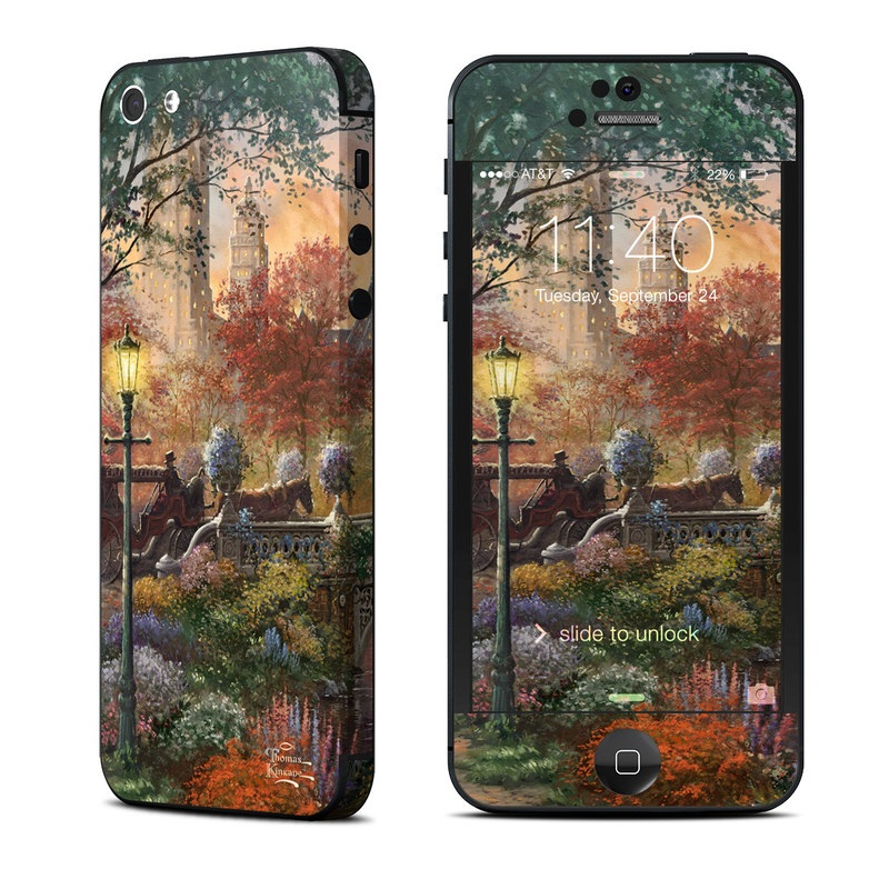 Autumn in New York iPhone 5 Skin