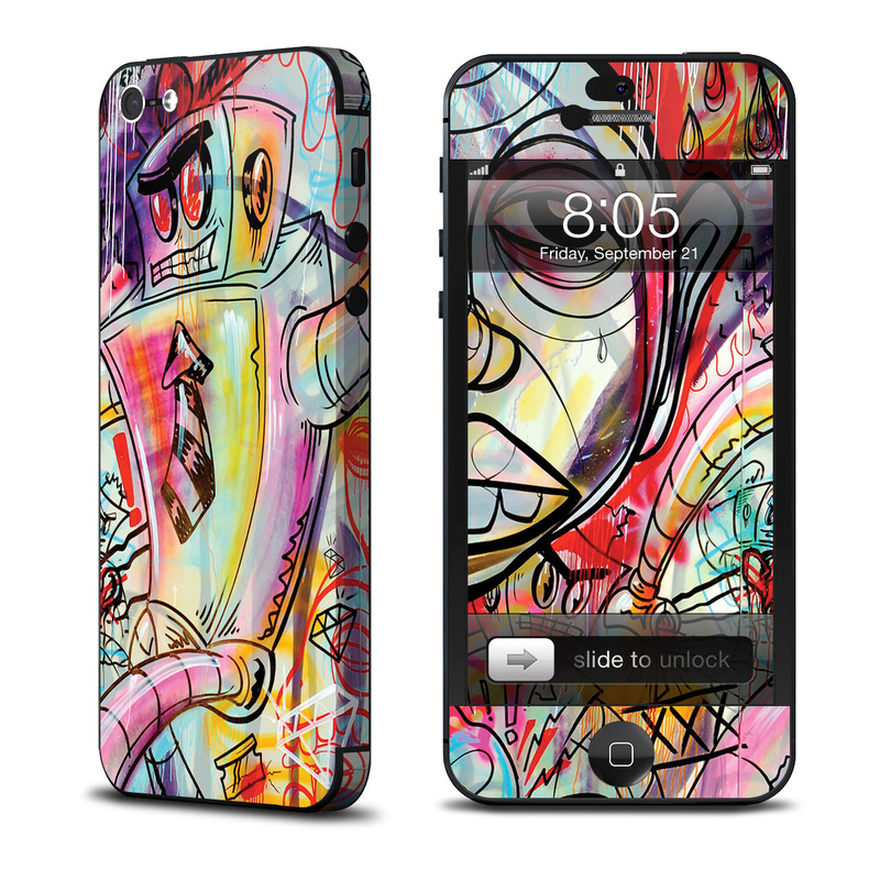 Battery Acid Meltdown iPhone 5 Skin