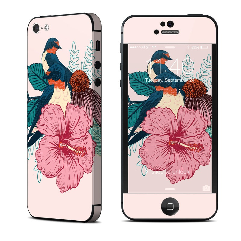 Barn Swallows iPhone 5 Skin