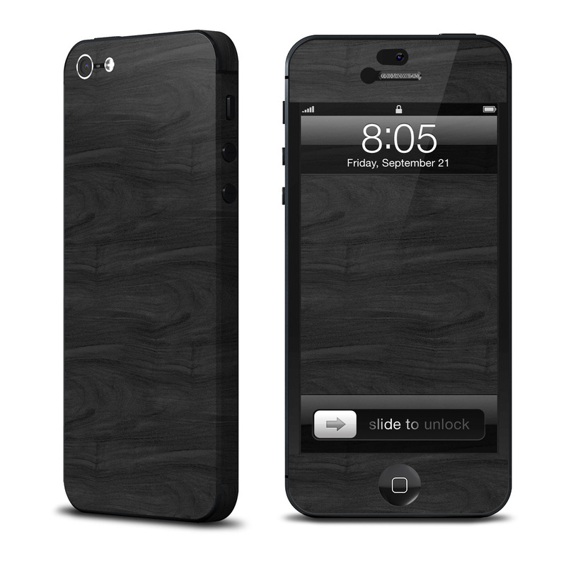 iPhone 5 Skin design of Black, Brown, Wood, Grey, Flooring, Floor, Laminate flooring, Wood flooring with black colors