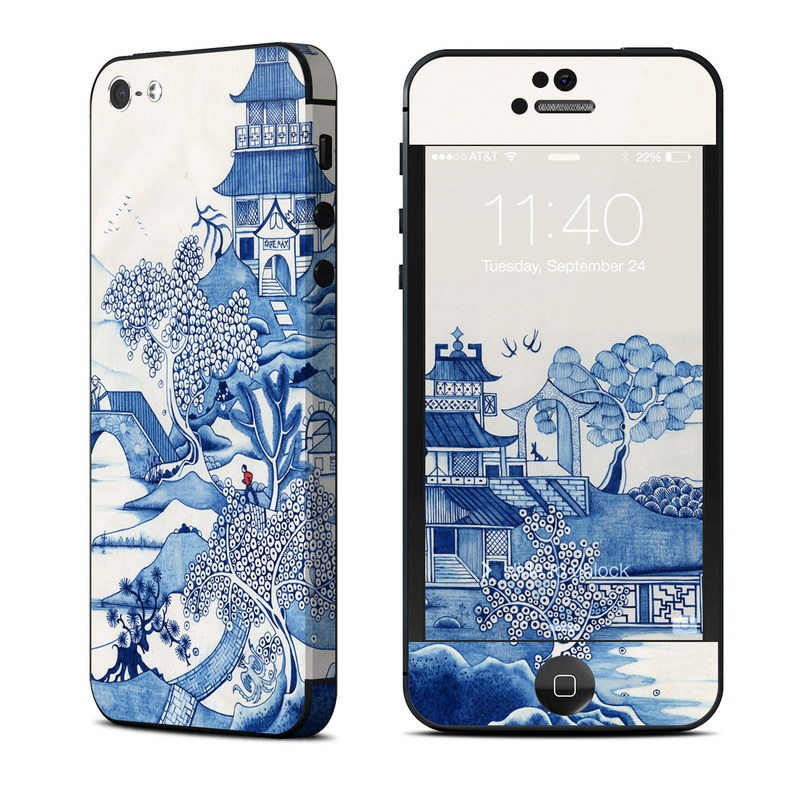 Blue Willow iPhone 5 Skin