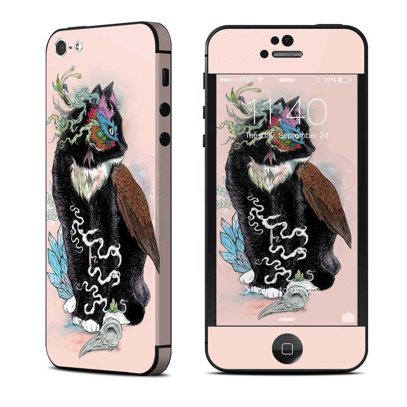 Black Magic iPhone 5 Skin