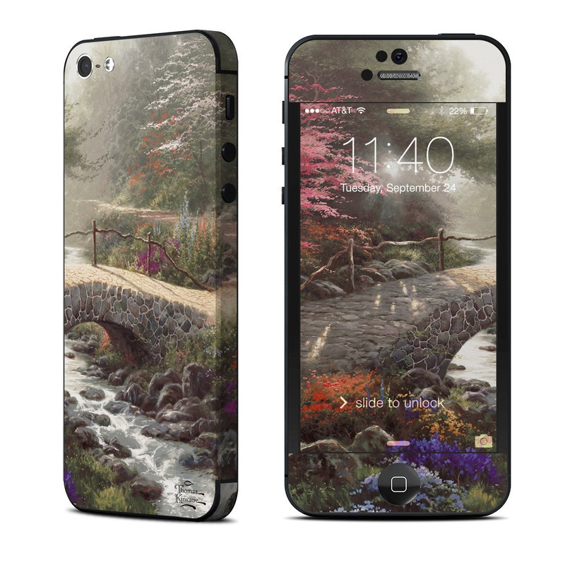 Bridge of Faith iPhone 5 Skin