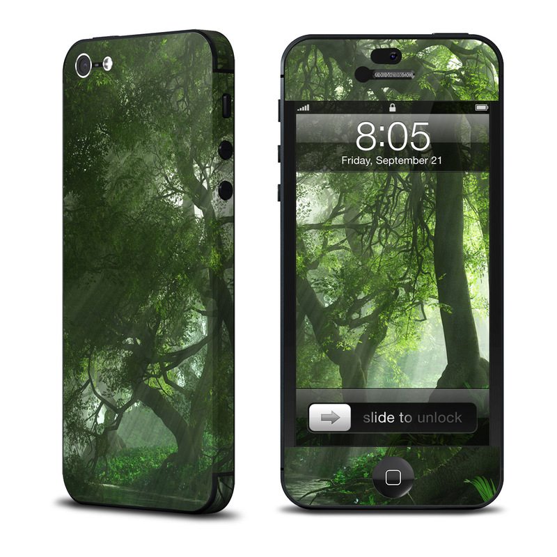 Canopy Creek Spring iPhone 5 Skin