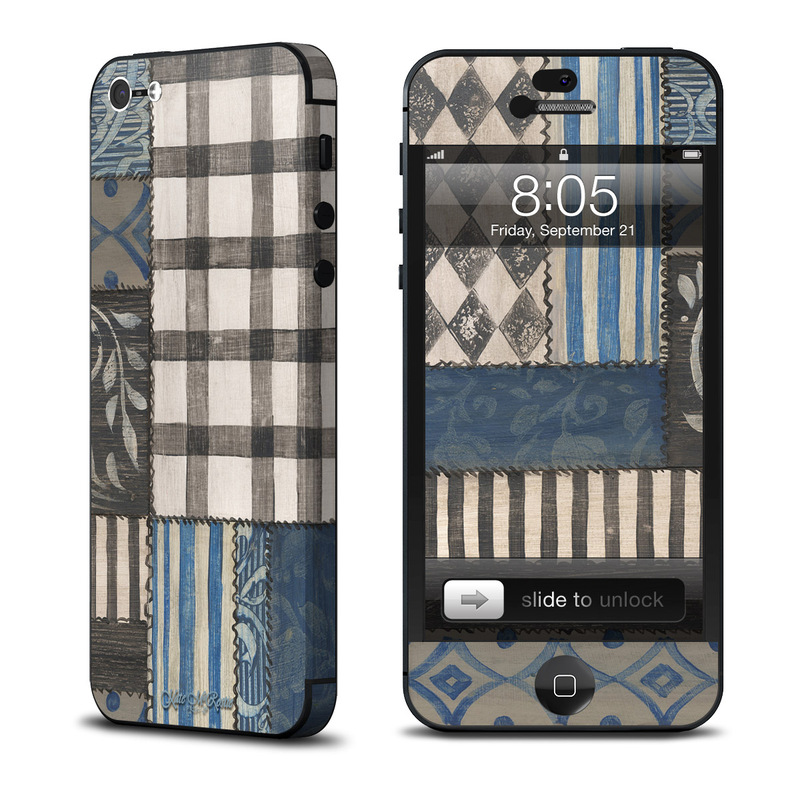 Country Chic Blue iPhone 5 Skin