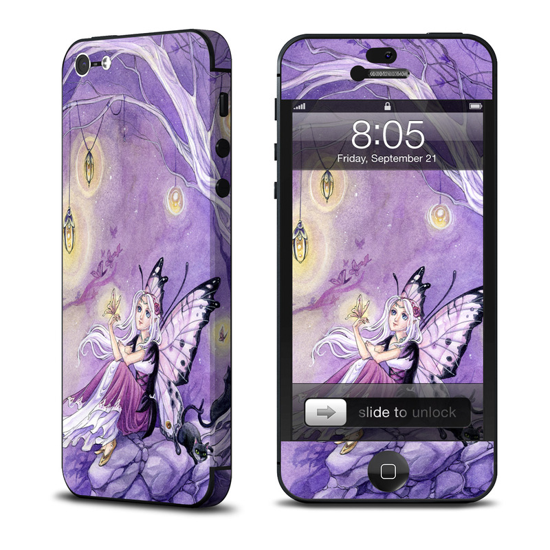 Chasing Butterflies iPhone 5 Skin