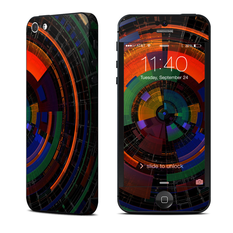 Color Wheel iPhone 5 Skin