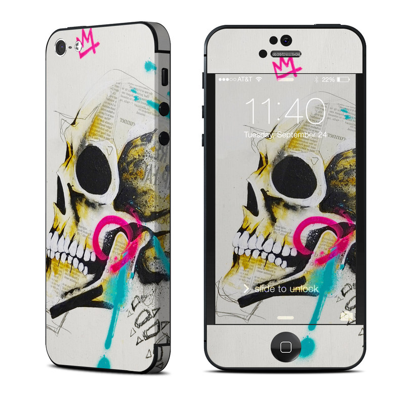 Decay iPhone 5 Skin