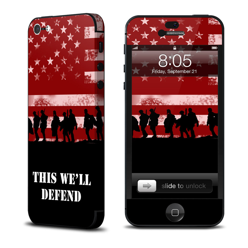 Defend  iPhone 5 Skin