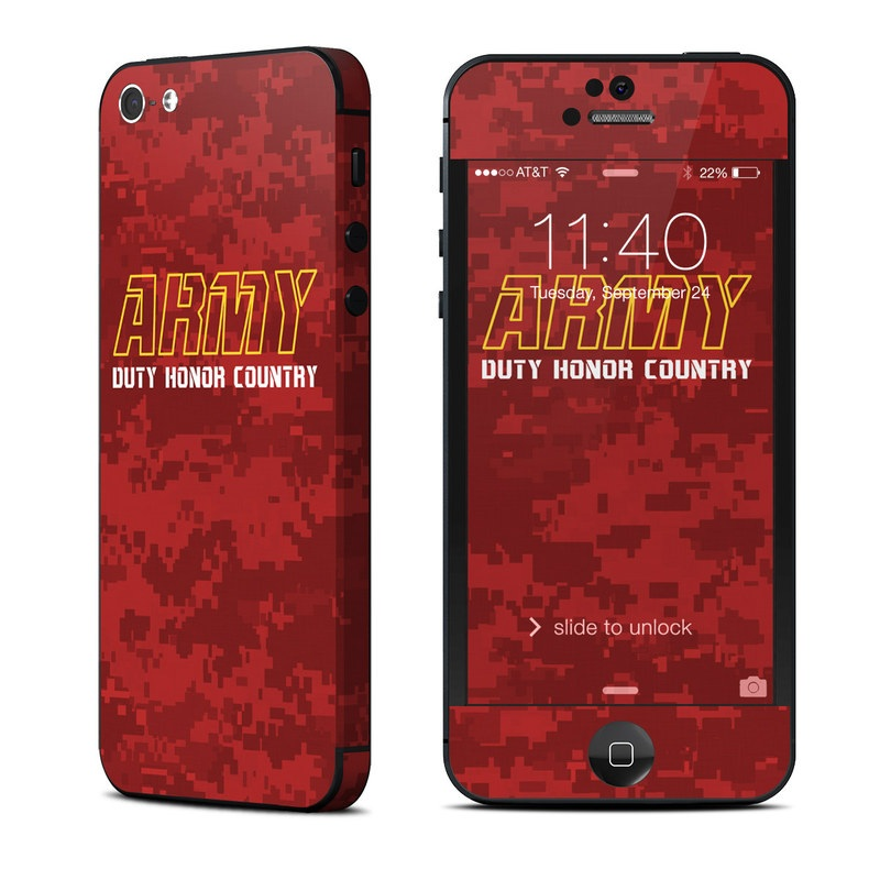 Duty and Honor iPhone 5 Skin
