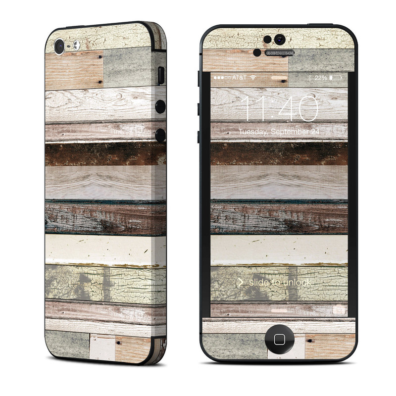 Eclectic Wood iPhone 5 Skin