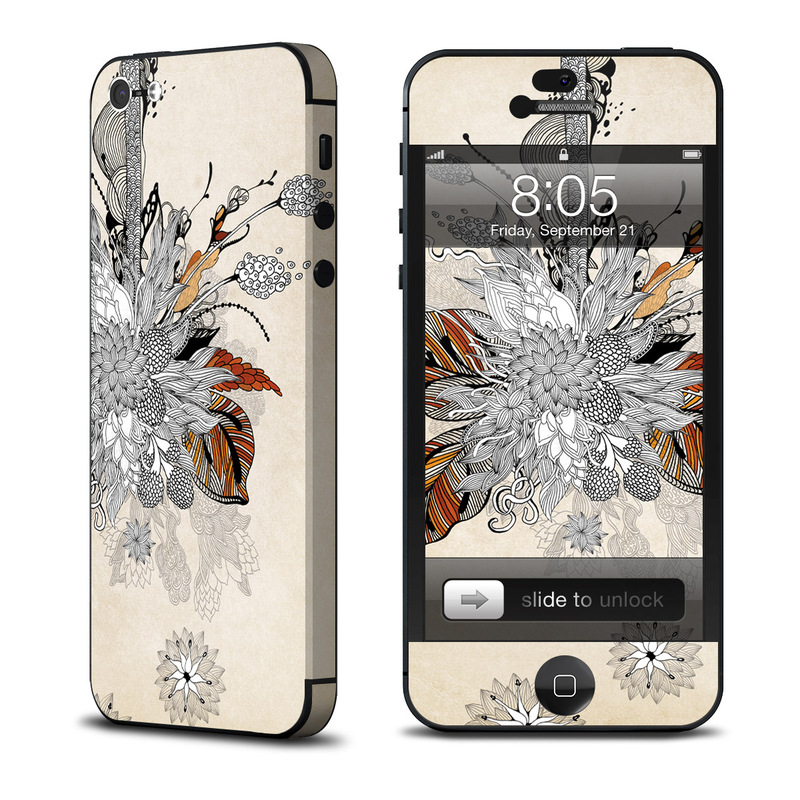 Fall Floral iPhone 5 Skin
