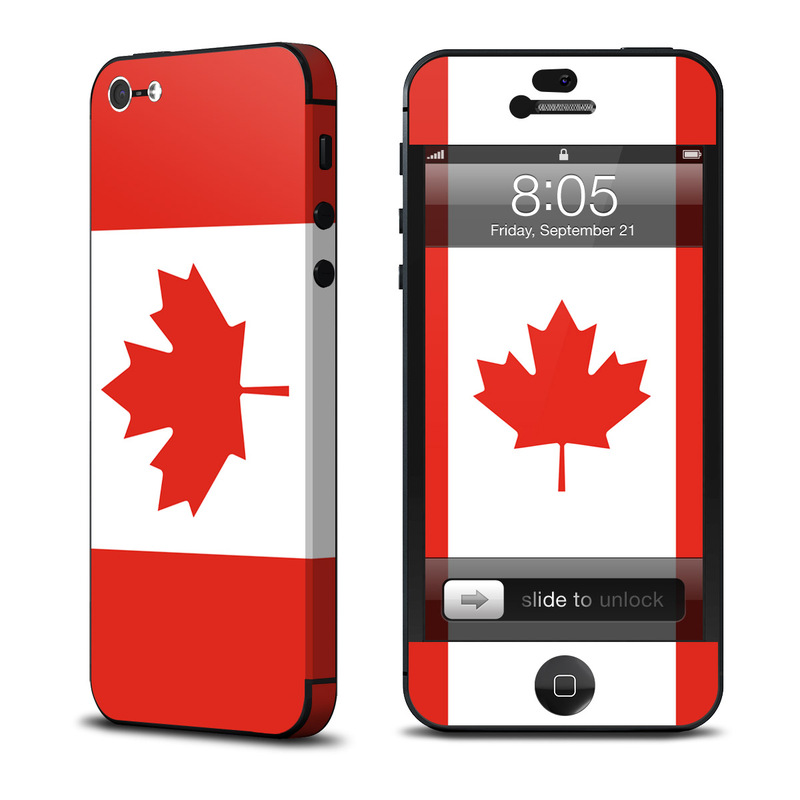 Canadian Flag iPhone 5 Skin