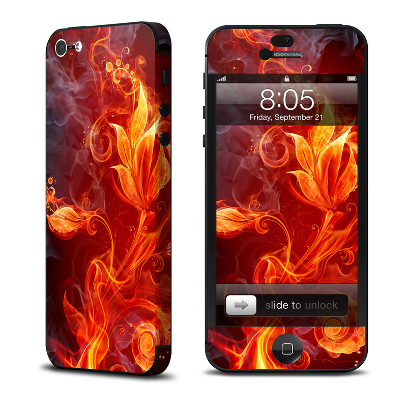 Flower Of Fire iPhone 5 Skin