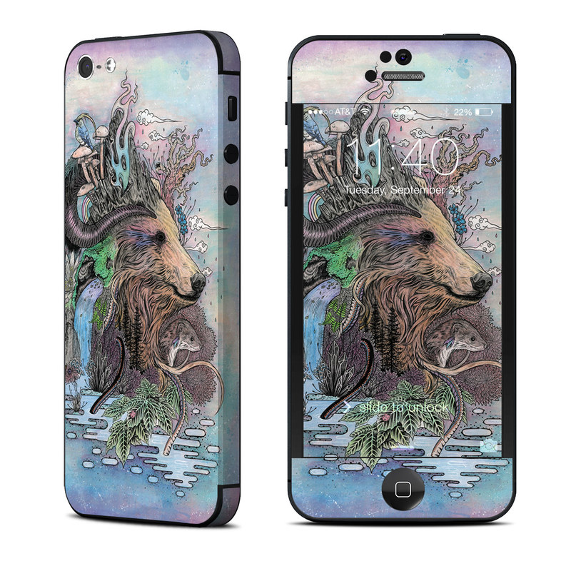 Forest Warden iPhone 5 Skin