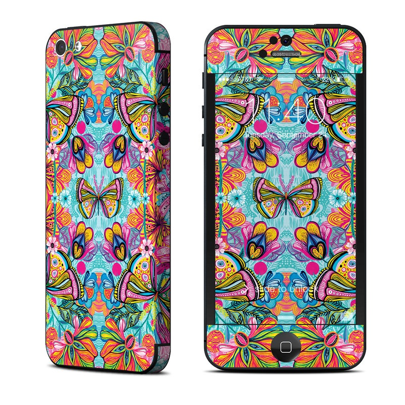 Free Butterfly iPhone 5 Skin
