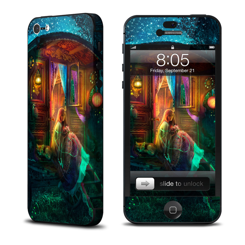 Gypsy Firefly iPhone 5 Skin