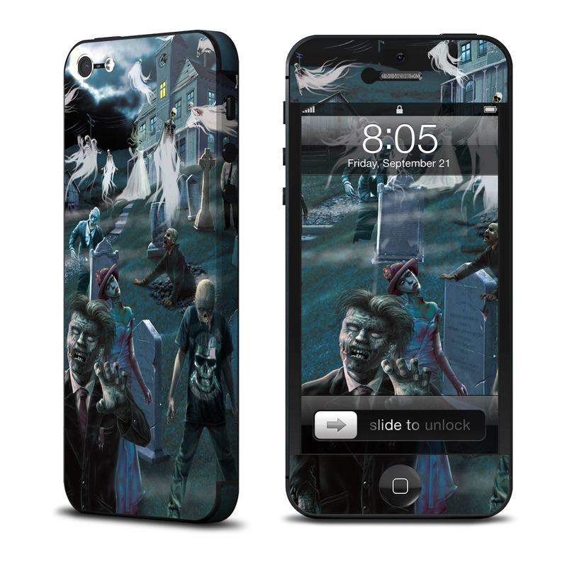 Graveyard iPhone 5 Skin