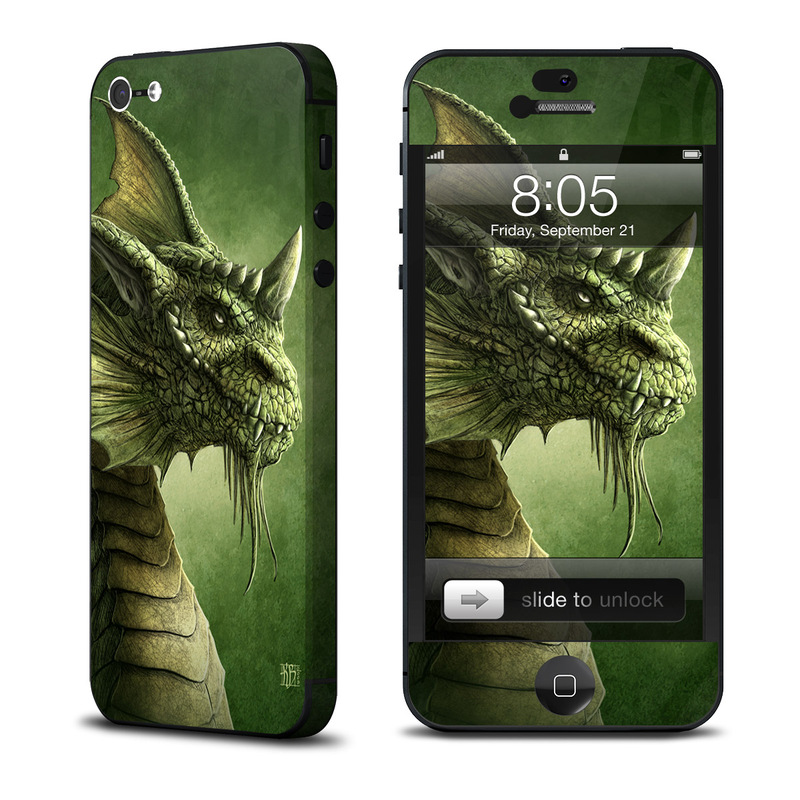 Green Dragon iPhone 5 Skin